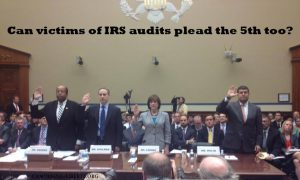 IRS pleads the 5th