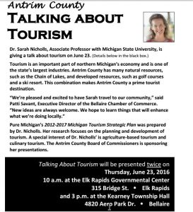 Antrim County Tourism Presentations