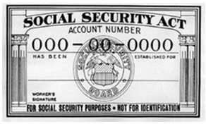Old Social Security Card